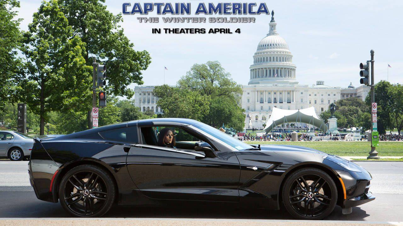 Scarlett Johannson's Black Widow will roll in a Corvette Stingray