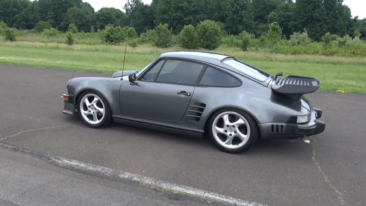 This Porsche 911 has a purist-outraging turbo four-cylinder swap