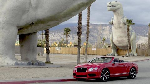 Automotive design, Vehicle, Dinosaur, Grille, Car, Performance car, Hood, Personal luxury car, Bentley, Luxury vehicle,