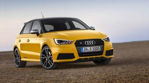 First Looks 2015 Audi S1 Sportback Quattro
