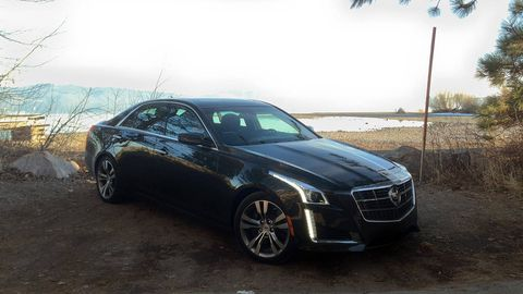 2014 Cadillac Cts Vsport Second Chance Review Road Tests