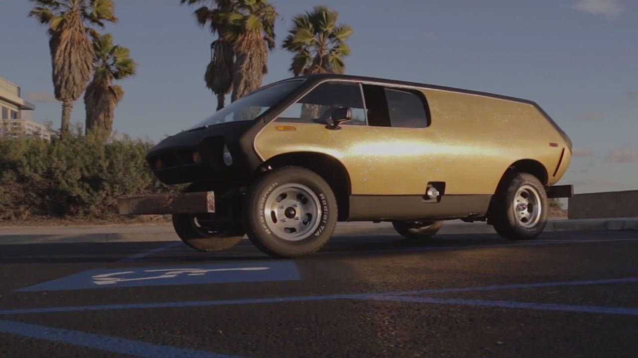 A look back at the funky Brubaker Box sports van