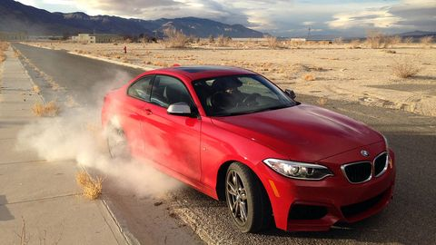 2015 bmw m235i coupe 0-60