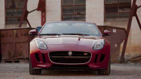 Automotive design, Mode of transport, Vehicle, Land vehicle, Car, Performance car, Red, Hood, Grille, Automotive mirror,