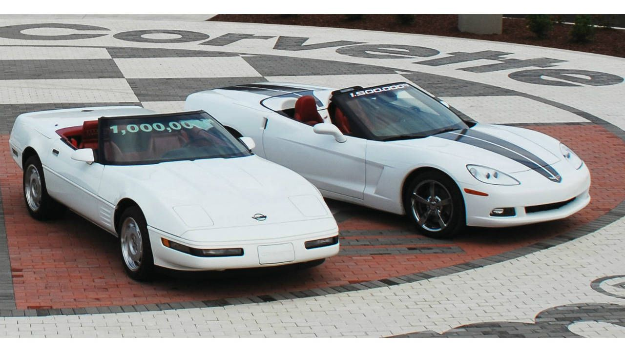 The National Corvette Museum sinkhole ate these 8 Vettes