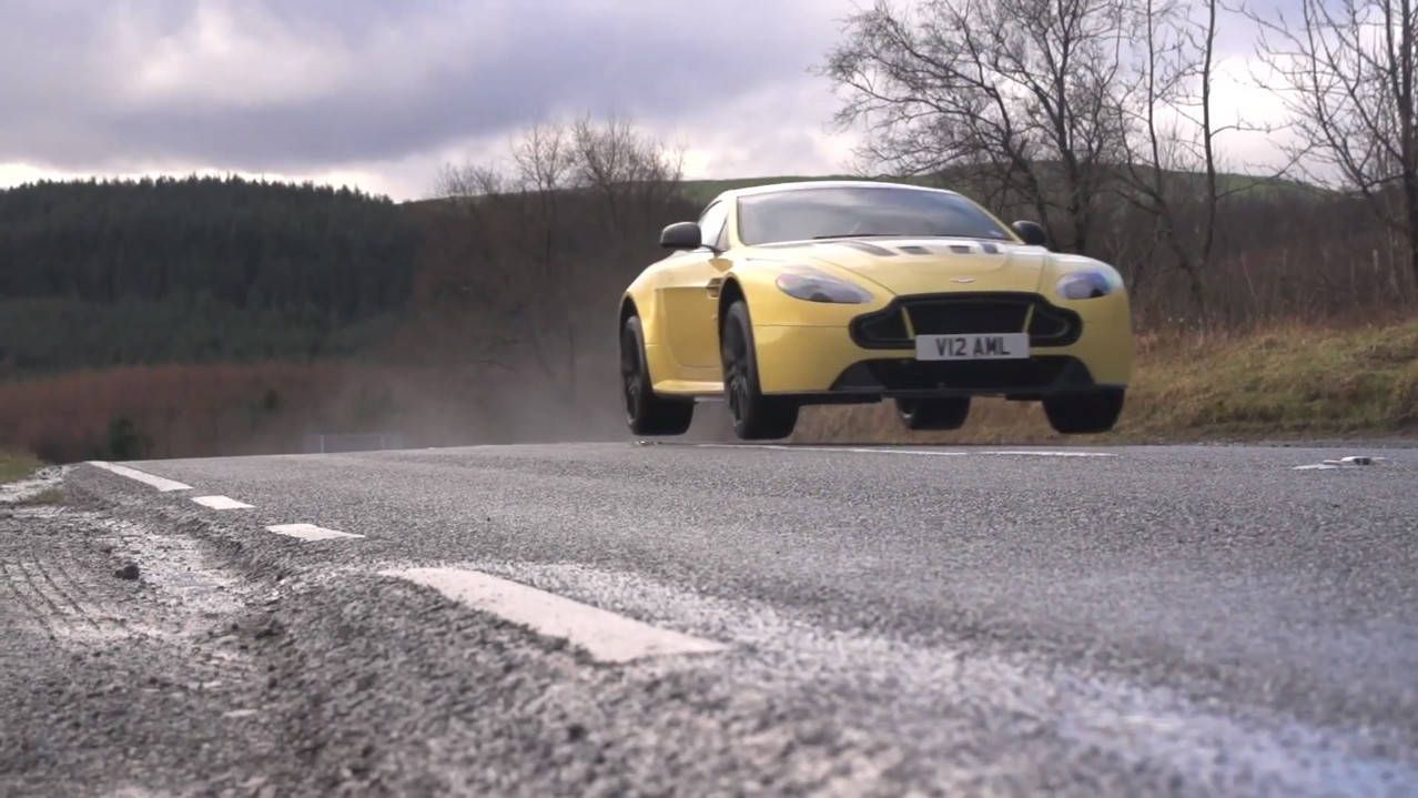Chris Harris drives a Porsche, Aston, and AMG all in one video