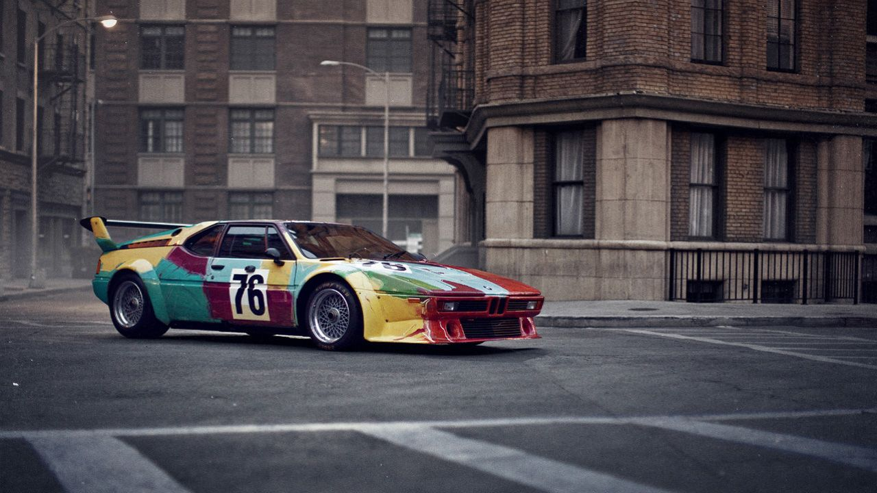 New book chronicles official history of the BMW Art Cars