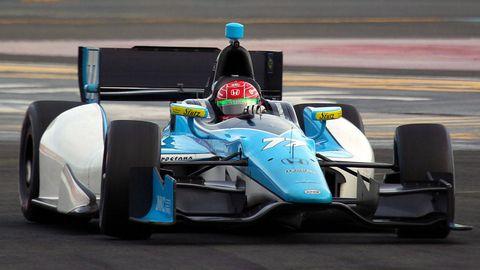 Mode of transport, Automotive design, Blue, Automotive tire, Open-wheel car, Motorsport, Race track, Racing, Car, Race car,