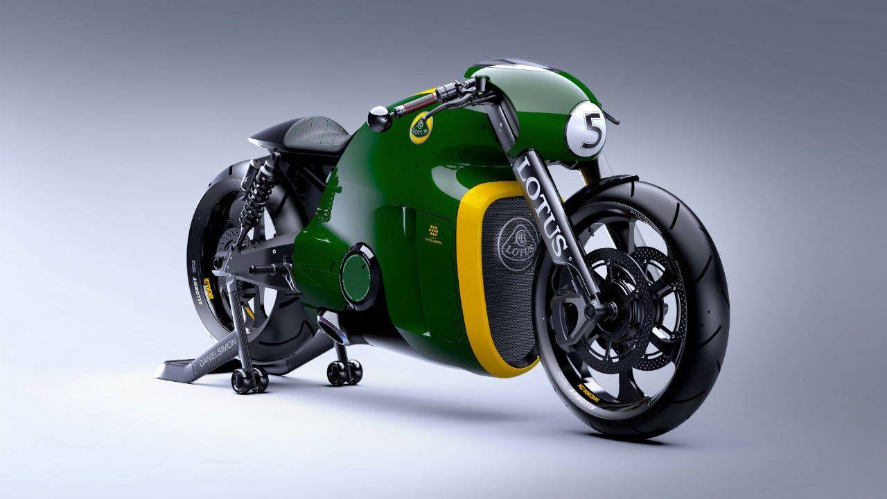Photos: Lotus C-01 Motorcycle