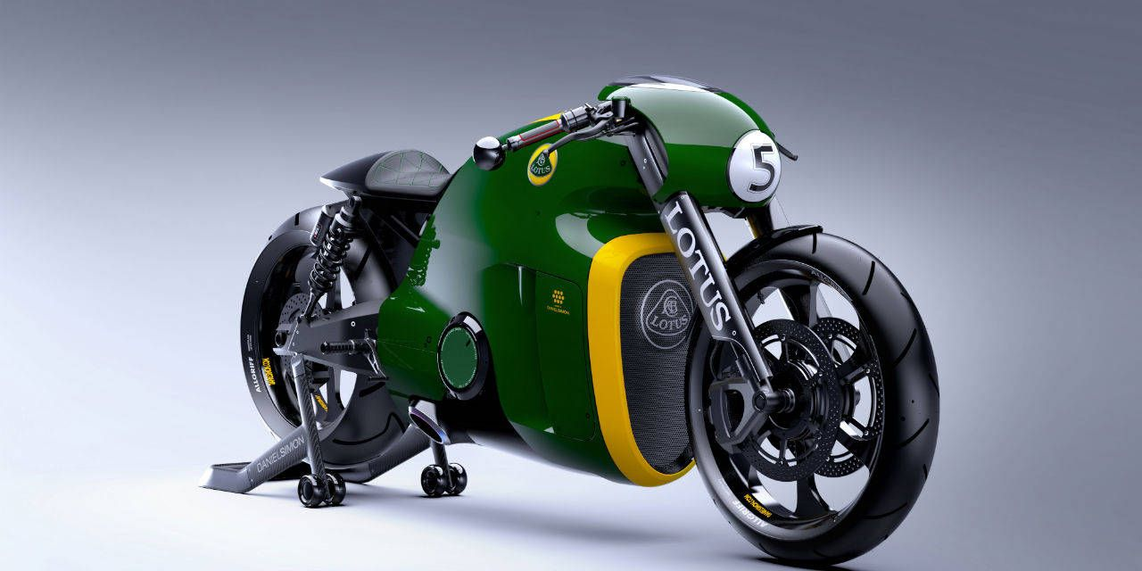 Photos: Lotus C-01 Motorcycle