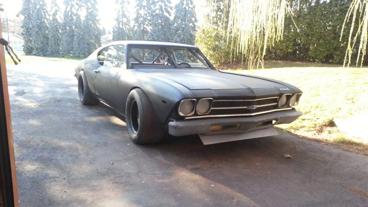 1969 NASCAR Stock Car Chevelle Project - Car Culture