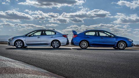 Difference Between Wrx And Sti >> 2015 Subaru Wrx Vs 2015 Subaru Wrx Sti Comparion Review
