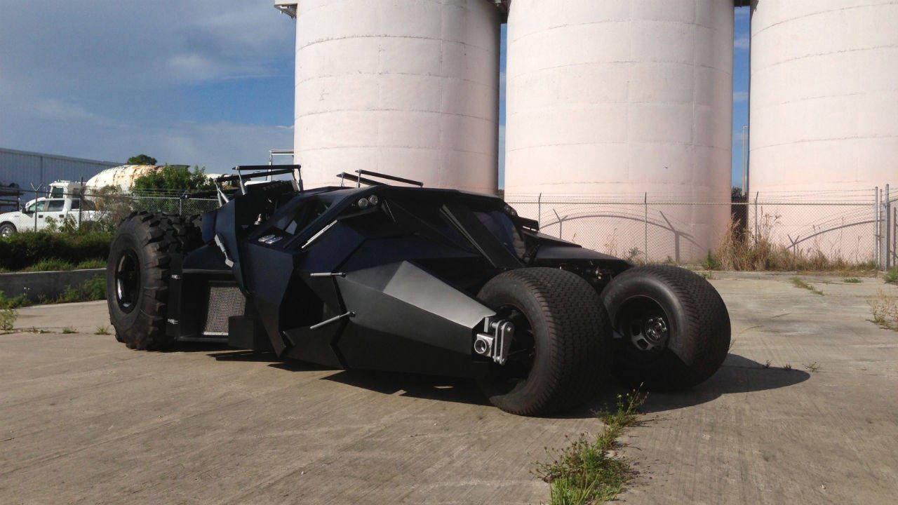 Would you pay $1M for this Batman Tumbler replica?