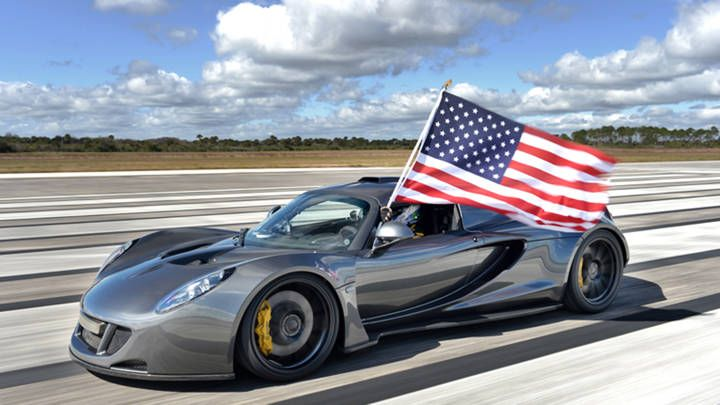 The Hennessey Venom GT is the world's fastest car