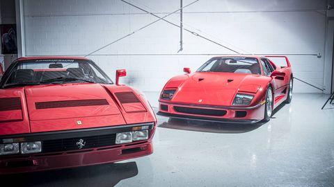 Spotlight on the 1984 Ferrari 288 GTO and the 1987 F40 - 51 Coolest Cars