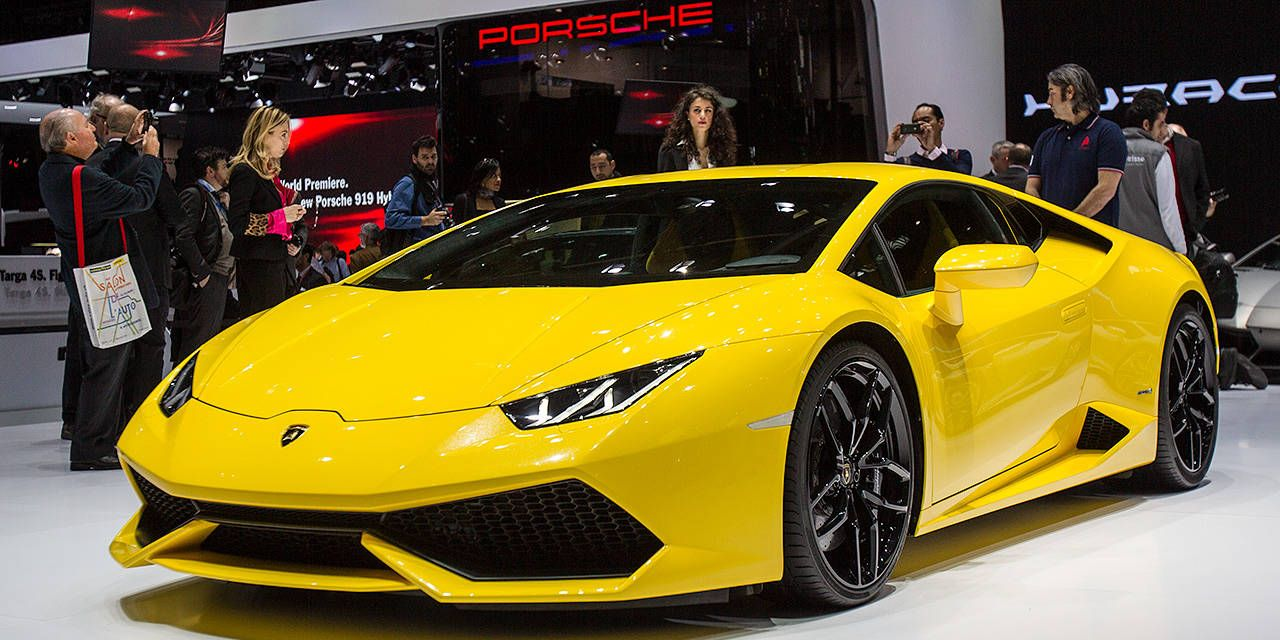 Photos: Lamborghini Huracan from the Geneva Motor Show