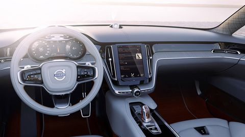 Motor vehicle, Steering part, Steering wheel, Center console, Vehicle audio, Personal luxury car, Automotive mirror, Luxury vehicle, Gear shift, Technology,