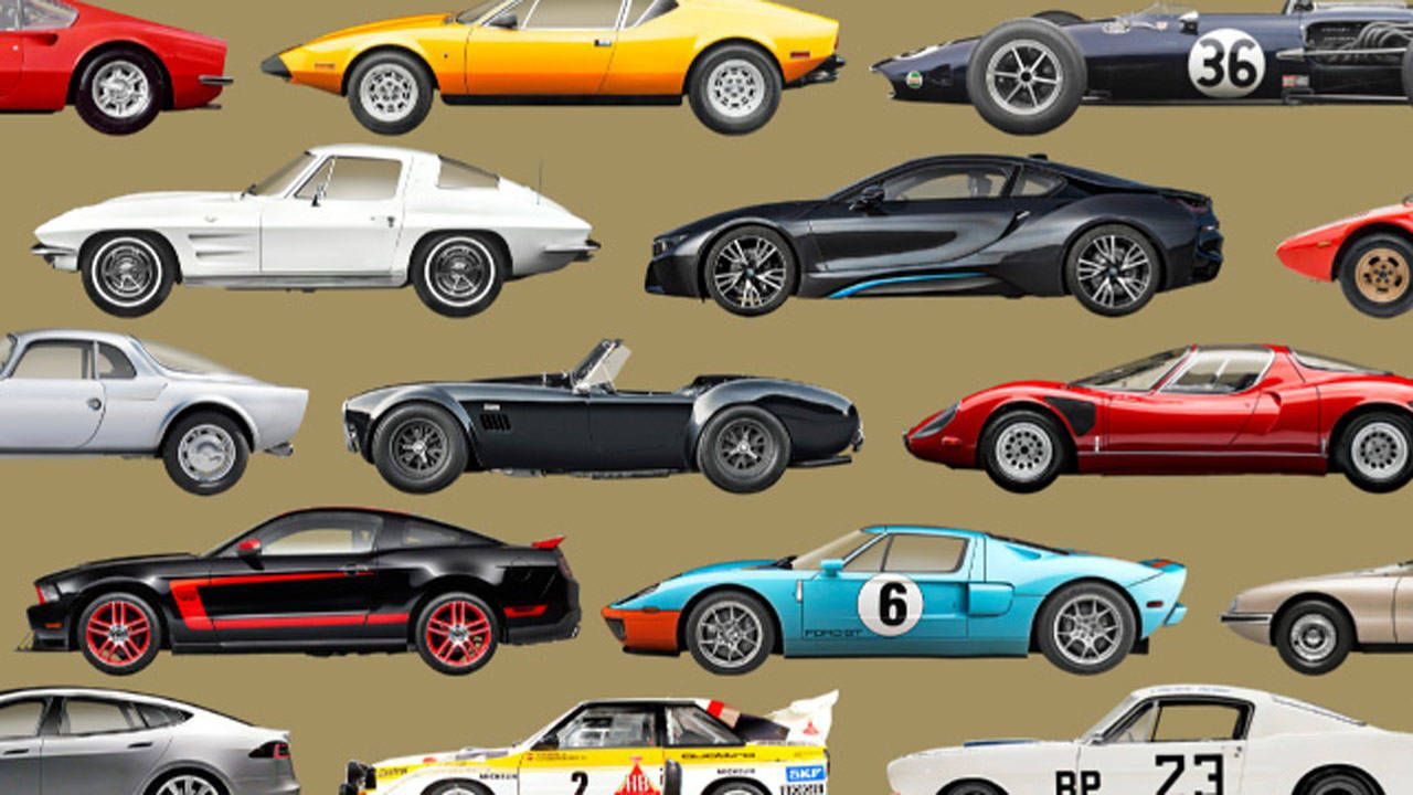 Our 51 coolest cars of the last 50 years