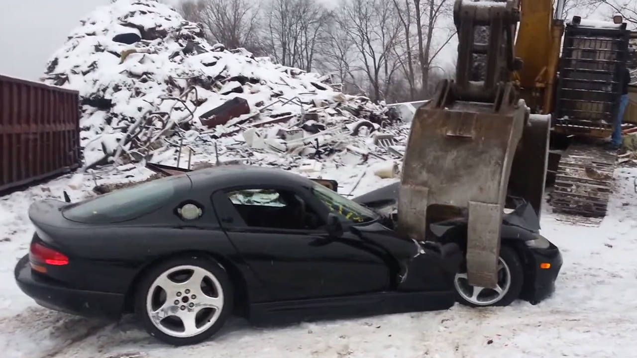 Why is Chrysler destroying the first Dodge Vipers ever made?