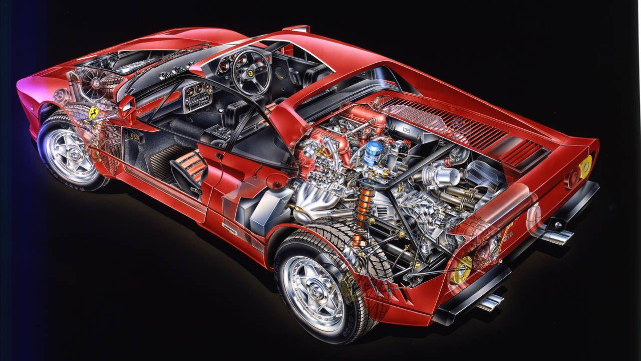 1984 Ferrari 288 Gto Drive Flashback 1964 Wiring Harness Radio