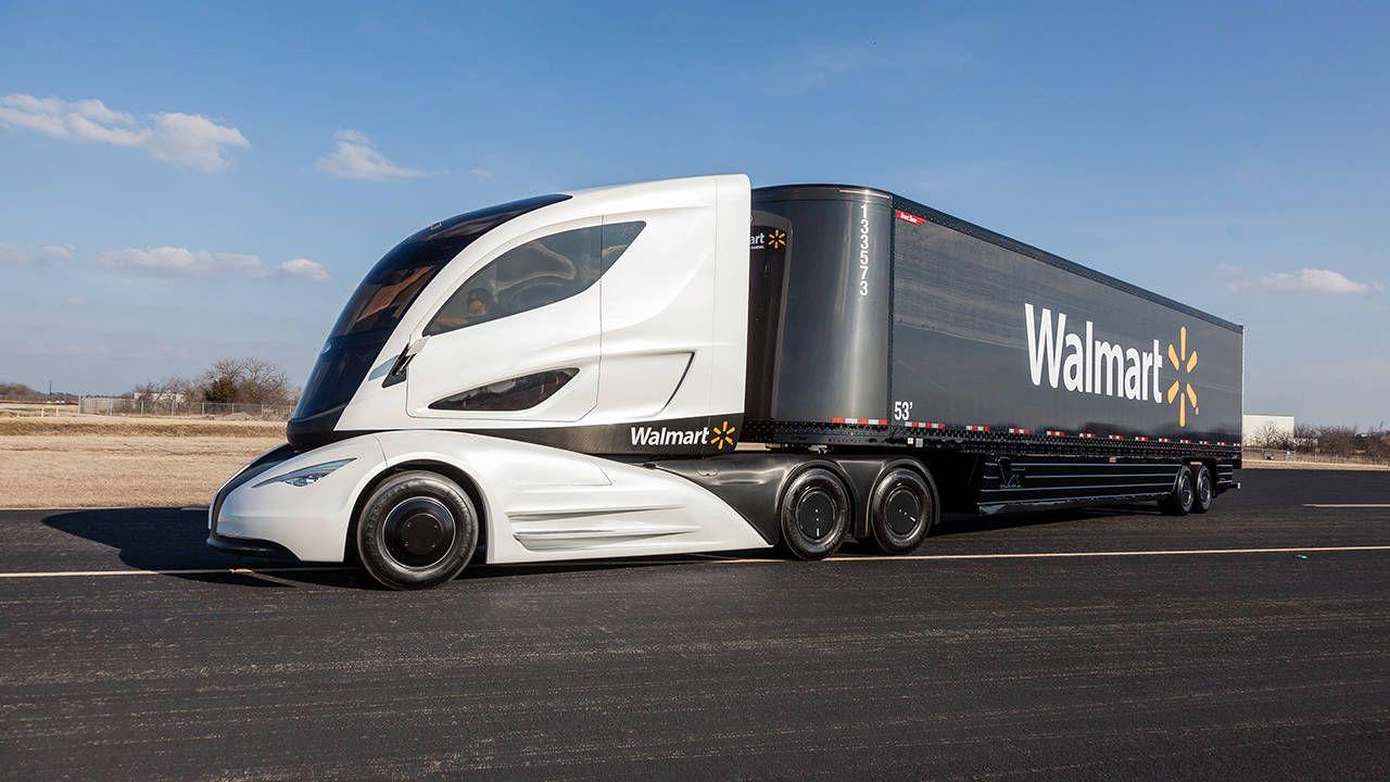 Walmart built a turbine-hybrid semi