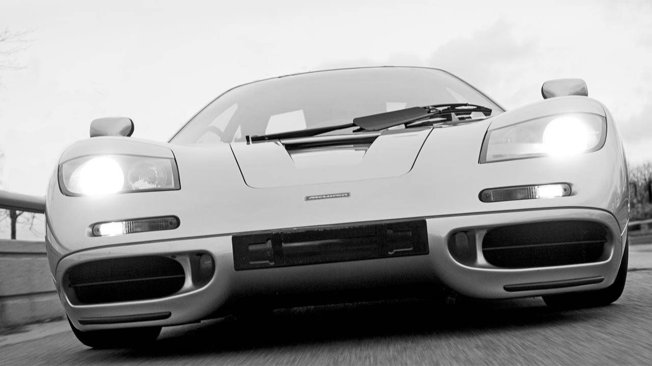 What it's like to drive a McLaren F1
