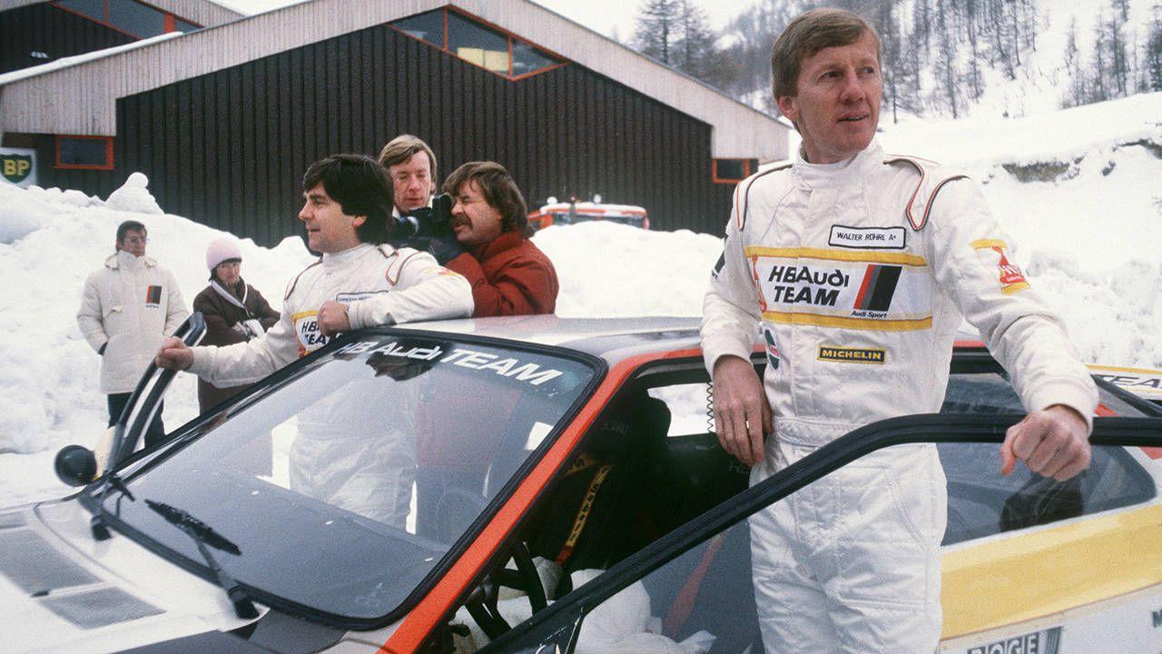 Walter Röhrl: rally king, passenger terrorizer, birthday boy