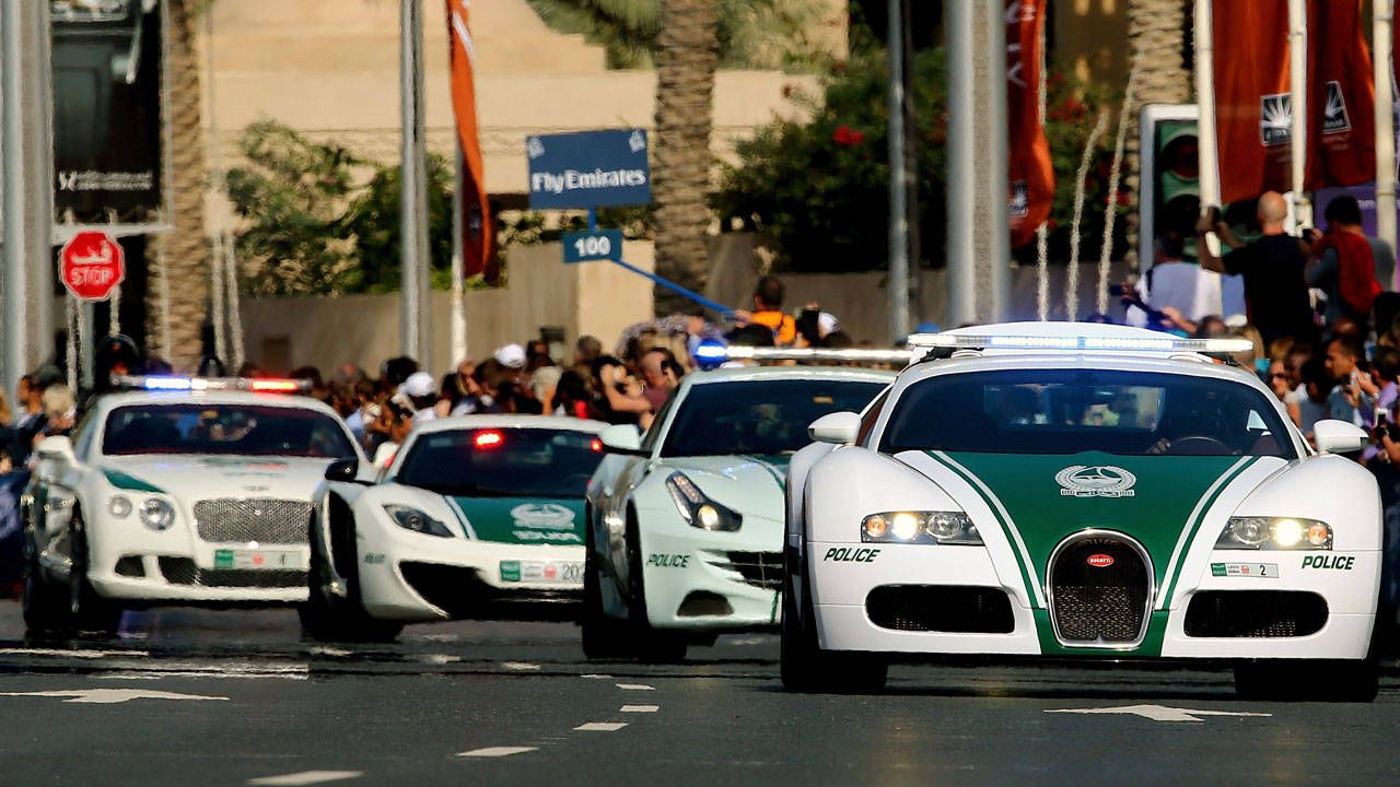 Dubai Police release a racing game, but it's not what you think...