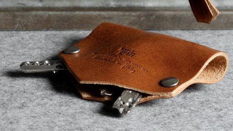 Brown, Textile, Tan, Leather, Beige, Wallet, Material property, Liver, Silver, Everyday carry,