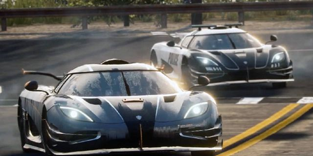 Koenigsegg One 1 Becomes Police Car In Need For Speed Rivals