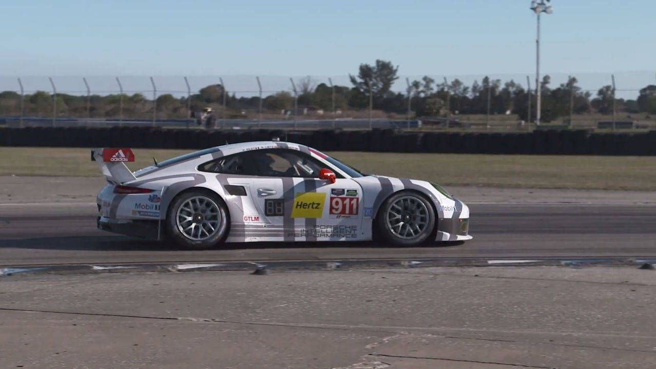 See how Porsche prepared for the 2014 12 Hours of Sebring