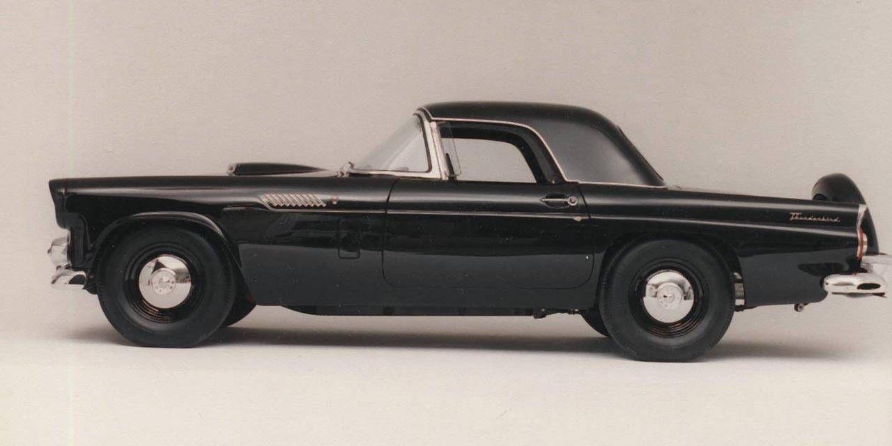 Photos: Frank Hagerty 1956 Ford Thunderbird