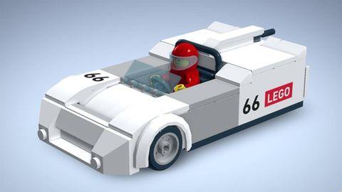 Automotive design, Transport, Automotive exterior, Toy, Fender, Automotive wheel system, Vehicle door, Lego, Toy vehicle, Fictional character,