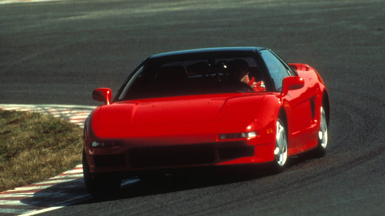 How Ayrton Senna made the Acura NSX exceptional