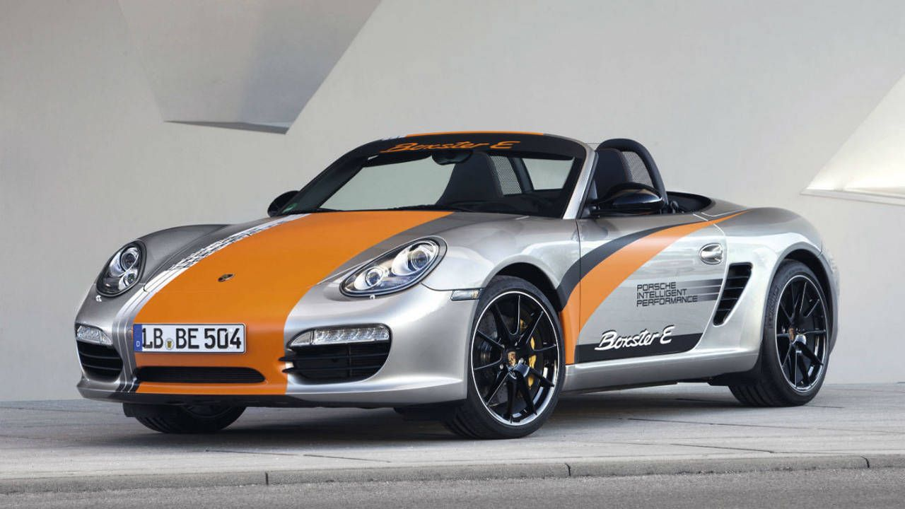 Your next Porsche might have an electric motor instead of a flat-six