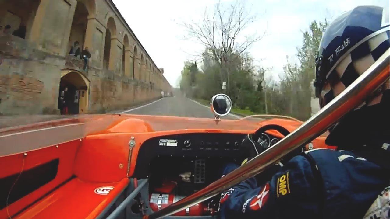 This Lotus 23B dominates a breathtaking Italian hillclimb