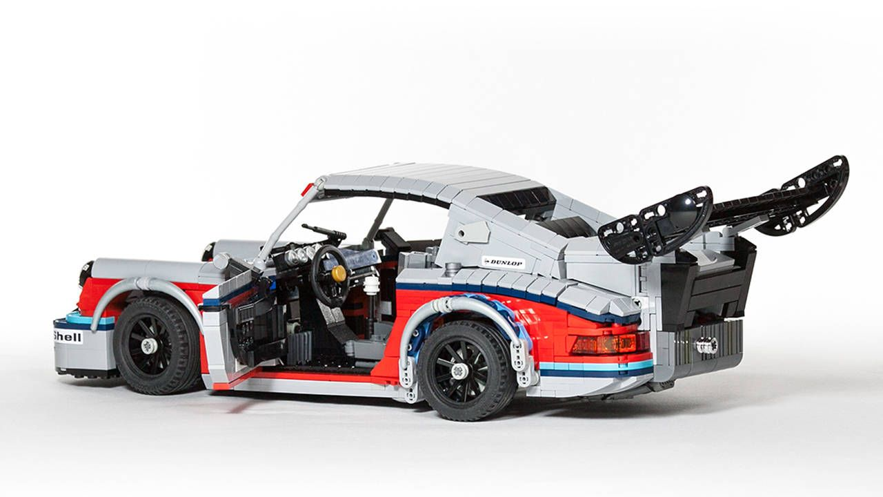 This Martini-liveried LEGO Porsche 911 RSR is awesome