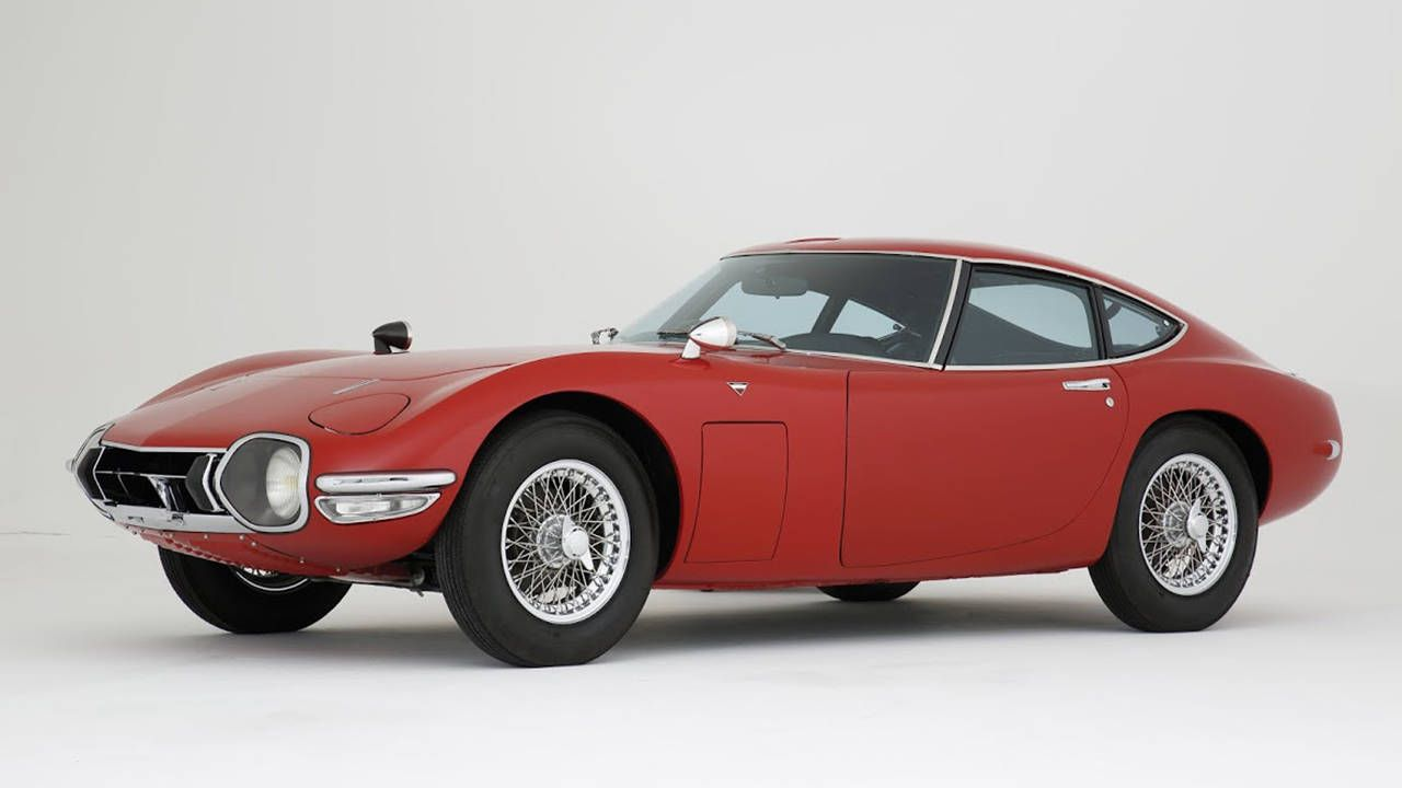 Rare 1968 Toyota 2000GT Up for Auction - News