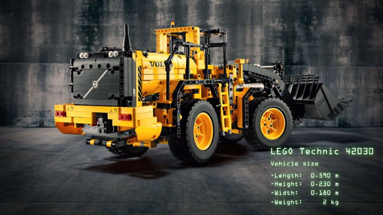 Dominate playtime with the Lego Volvo Wheel Loader L350F