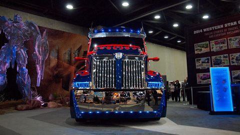 Optimus Prime In Detail Mid America Truck Show Photos