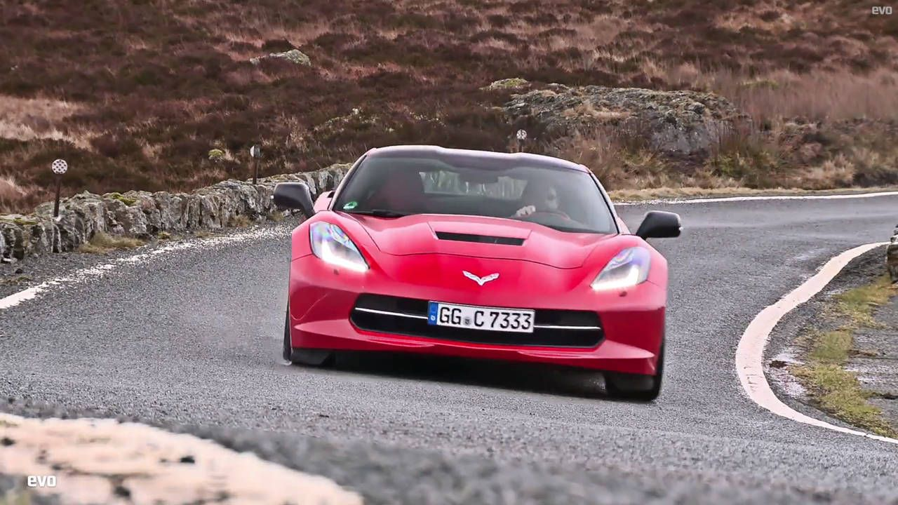 Can the Corvette impress jaded British journalists?