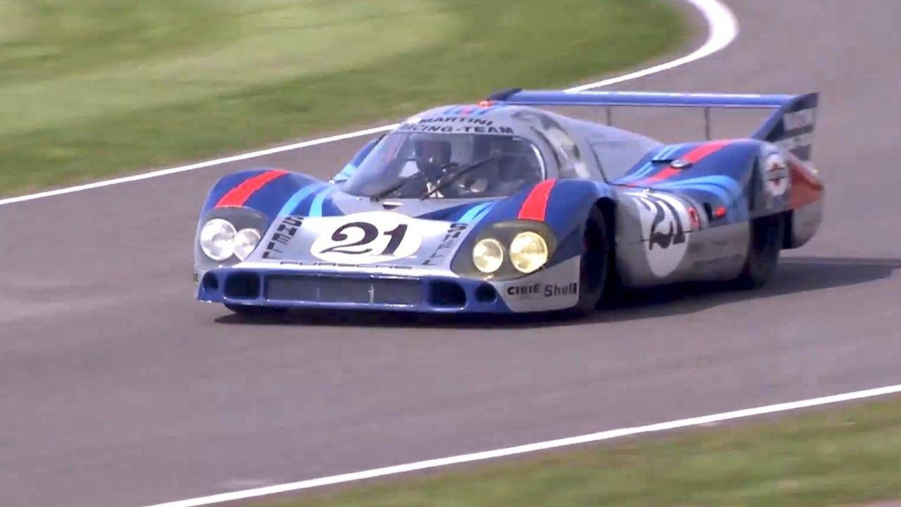 Watch fire-breathing long-tail Le Mans cars at Goodwood