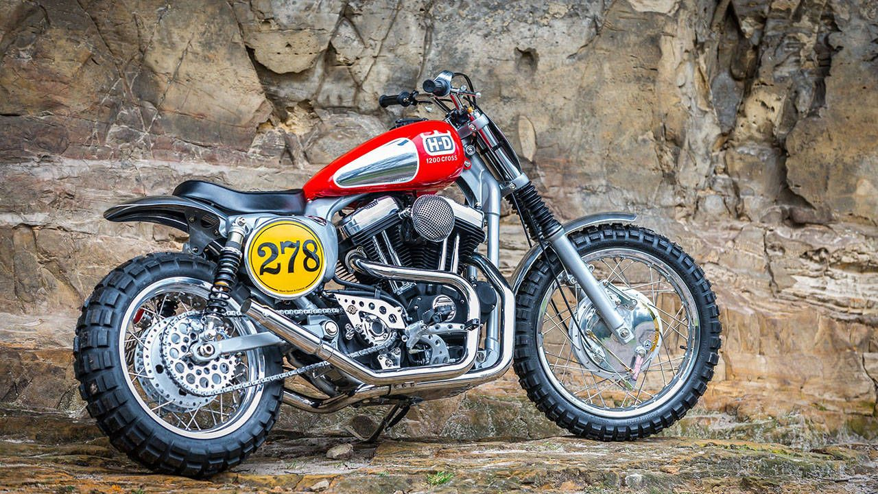 Britain's Shaw Speed & Custom builds some seriously bitchin' Harleys