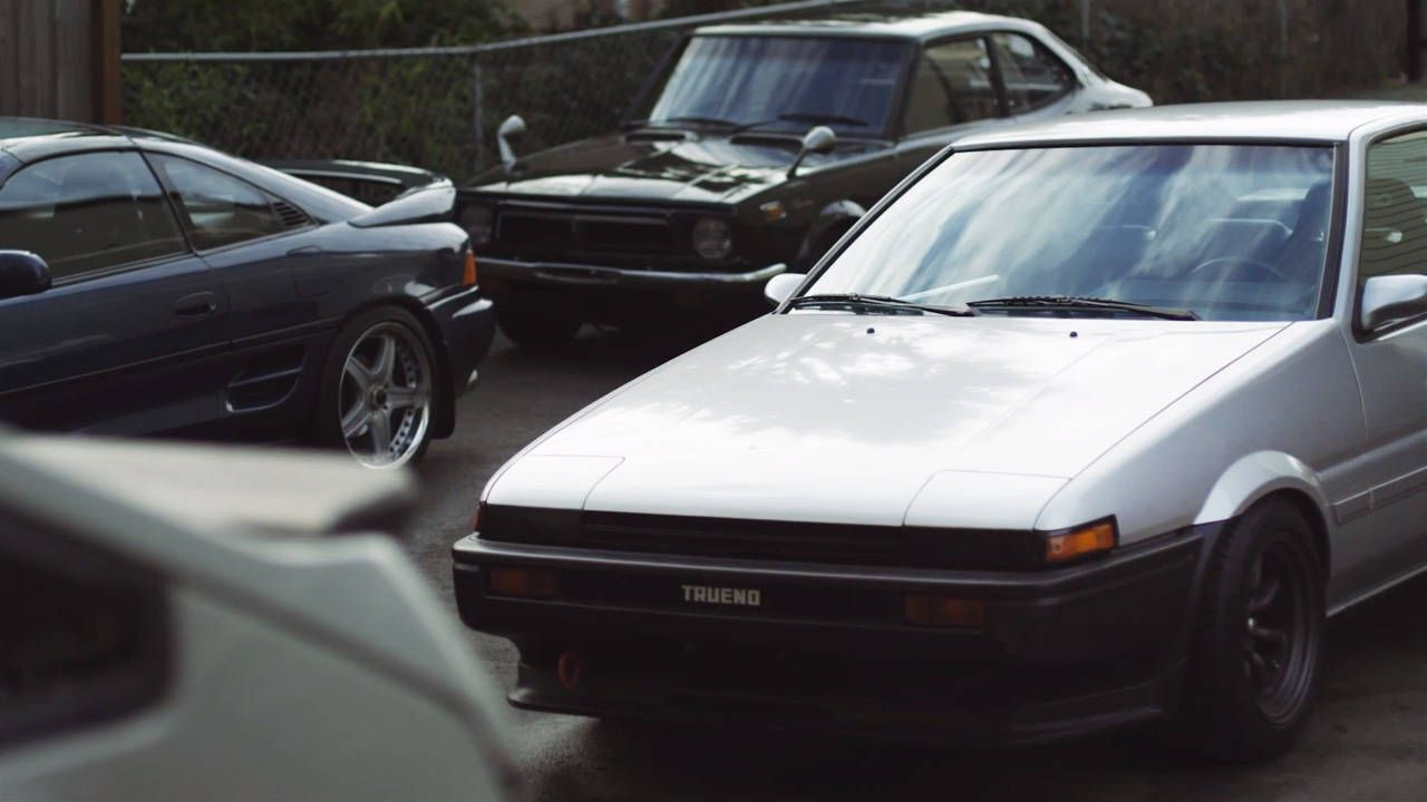 Old-school Toyotas don't need to drift to be cool