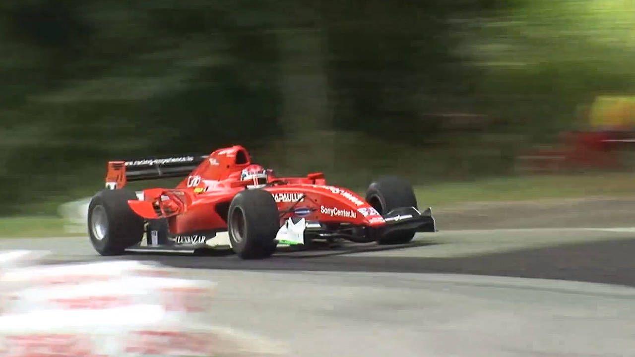 Watch this GP2 car blast through Swiss mountain roads