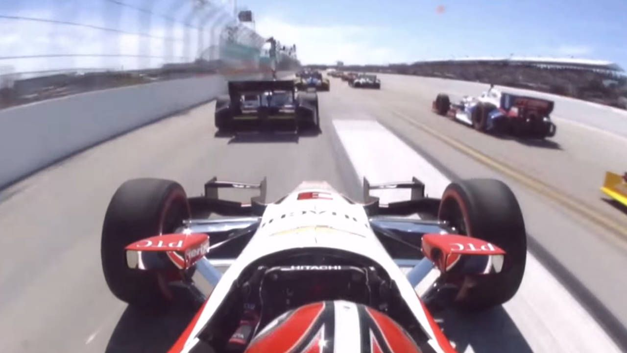 Watch 13 minutes of unadulterated IndyCar awesomeness