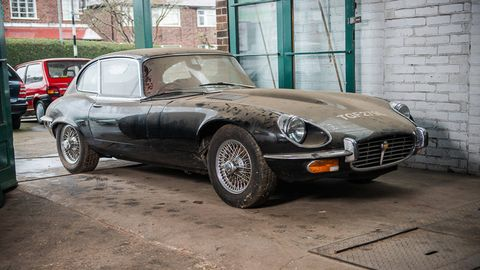 1972 Jaguar E Type Series III V12