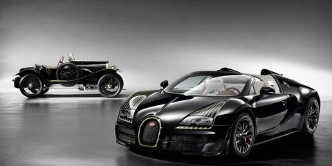 Bugatti Veyron Black Bess - Photos