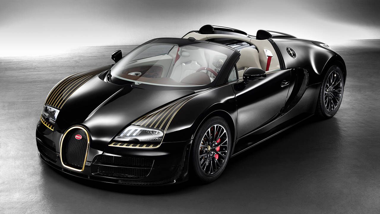 Best Legend Edition yet? Bugatti Veyron Vitesse Black Bess