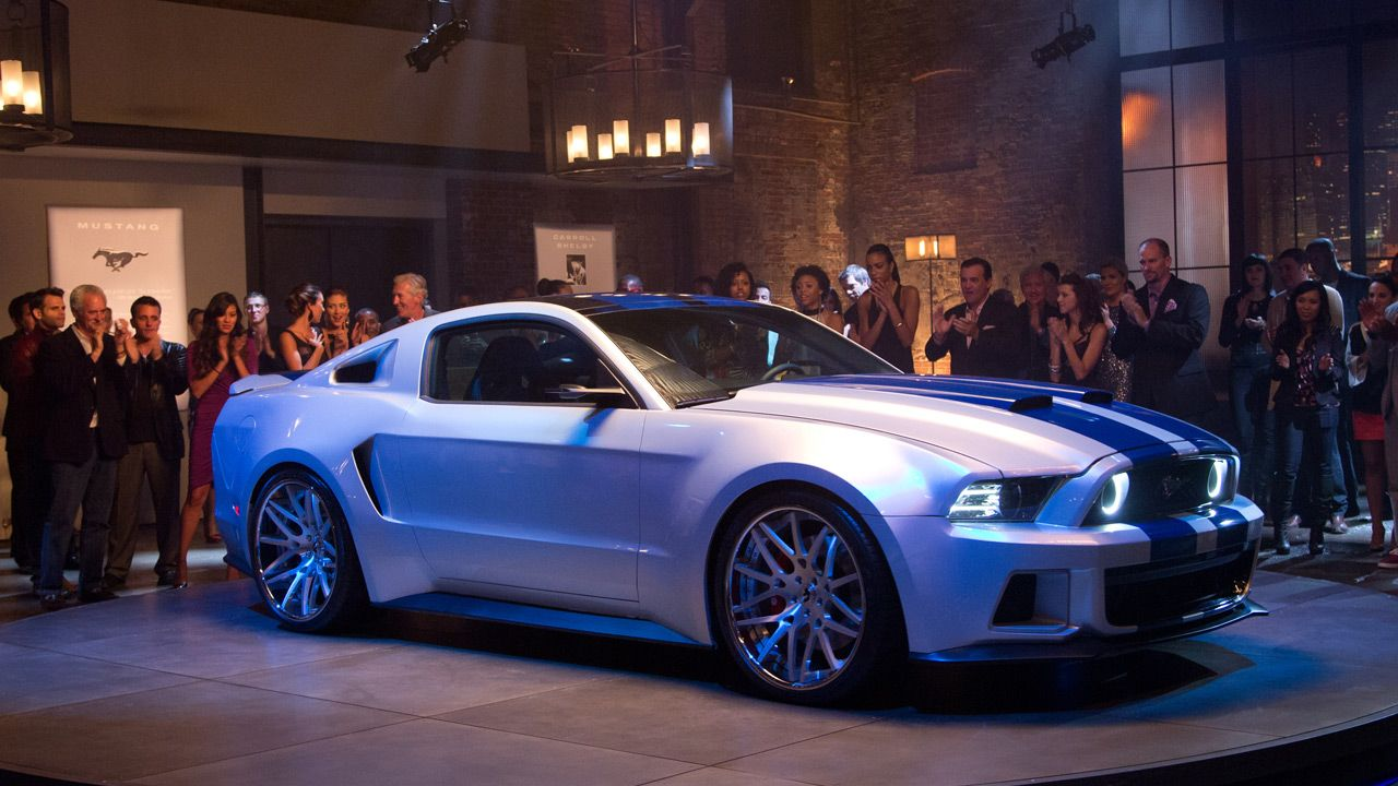 Ford Mustang Gt Need For Speed ​​movie